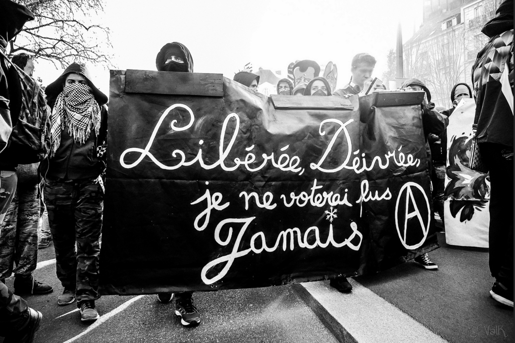 Nantes contre le FN. Photo  ValK