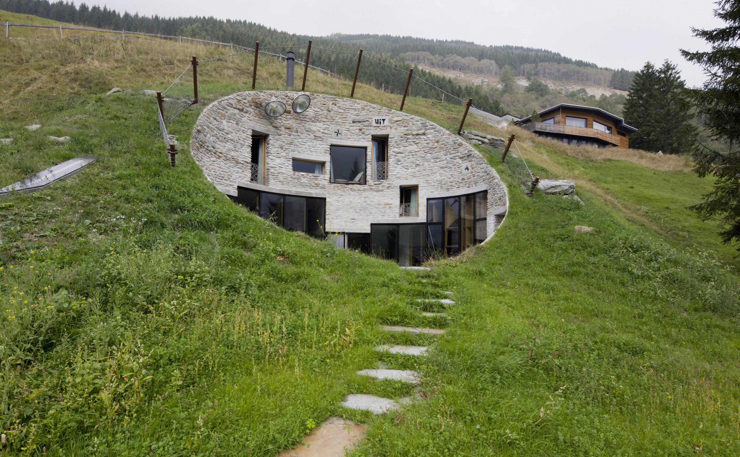 SeARCH and CMA, Villa Vals, 2009, Graubünden, S  uisse  .   crédit:   Iwan Baan