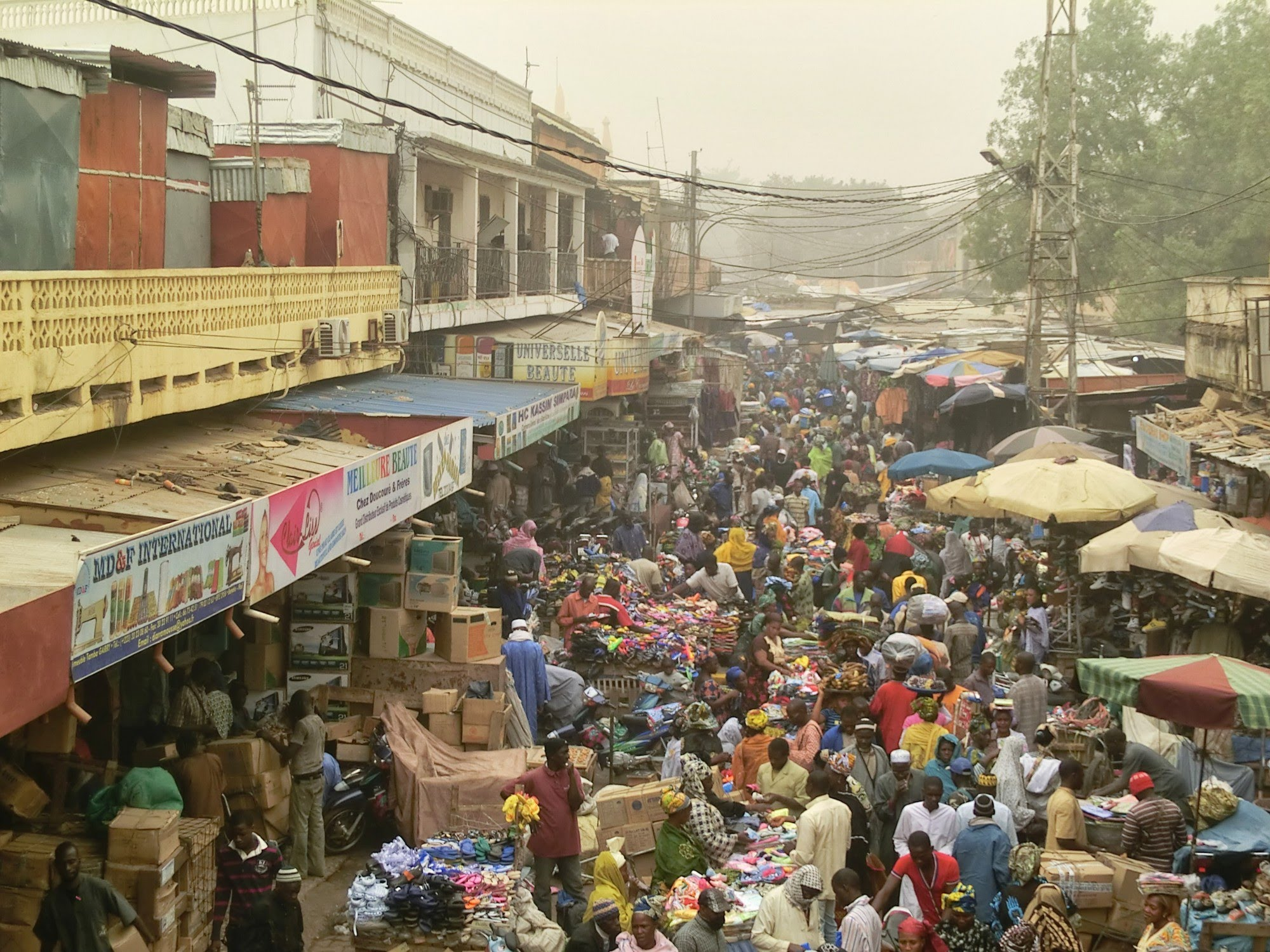 Le grand marché, Bamako