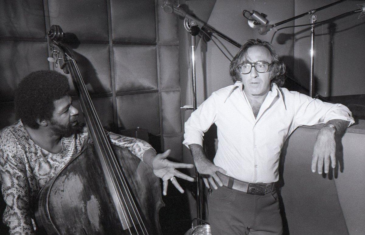 Bob Shad avec Buster Williams en 1972