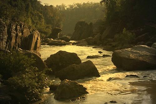 Paysage du Dandakaranya dans le centre-Est de l'Inde