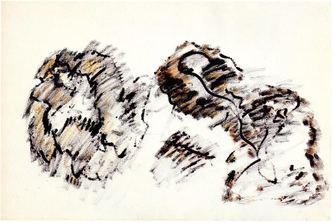 Henri Michaux Sans Titre, 1973 llimad) Acrylique sur papier — 59,5 ×90 cm© Henri Michaux Succession / Courtesy Galerie Lelong & Co. Paris
