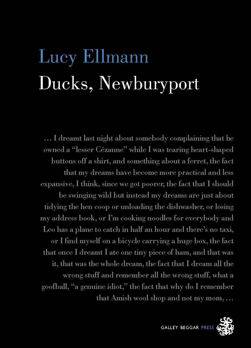 Lucy Ellmann et son Moby Dick cosmico-domestique - Claro nous annonce la venue d'un grand roman - Lucy Ellmann est née en 1956. Elle est la fille de Richard Ellmann, auteur entre autres d'une monumentale biographie de James Joyce, et de Mary Ellmann, une écrivaine et critique remarquée dès les années 60 pour ses prises de positions féministes. Son nouveau roman : Ducks, Newburyport nous fait entrer directement dans la tête, ou plutôt l'infini des pensées d'une femme au foyer américaine ayant passé la cinquantaine et vivant dans l'Ohio. Un Moby Dick à la fois cosmique et domestique… On ne parlera pas de chef-d'œuvre, ce serait un euphémisme. Reste à trouver un éditeur en France. A suivre…