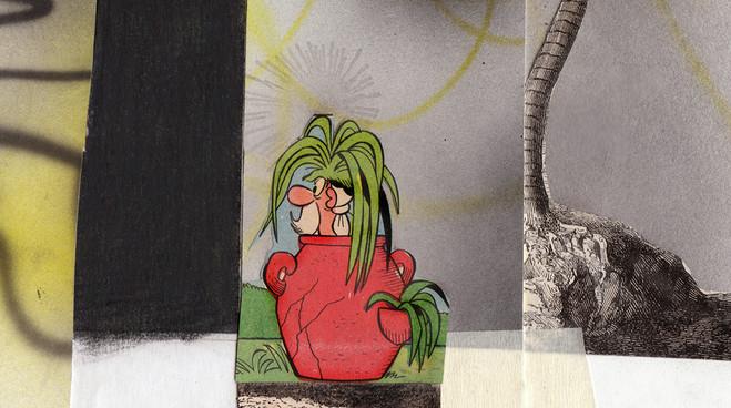 Hippolyte Hentgen est aussi un Krazy Kat - Art | Hippolyte Hentgen tente la réunion des images reproduites et la répétition imparfaite et variable du trait dessiné à la main. Pour cela, tout est bon, de la récupération d'images au détournement de dessin animé. C'est joyeux et malin, et ça fait réfléchir sur la destinée des images et leur usage actuel. Explications.