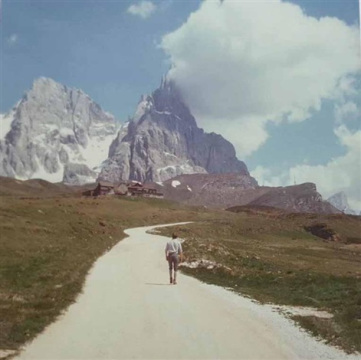 Luigi Ghirri,  Passo Rolle,  1987