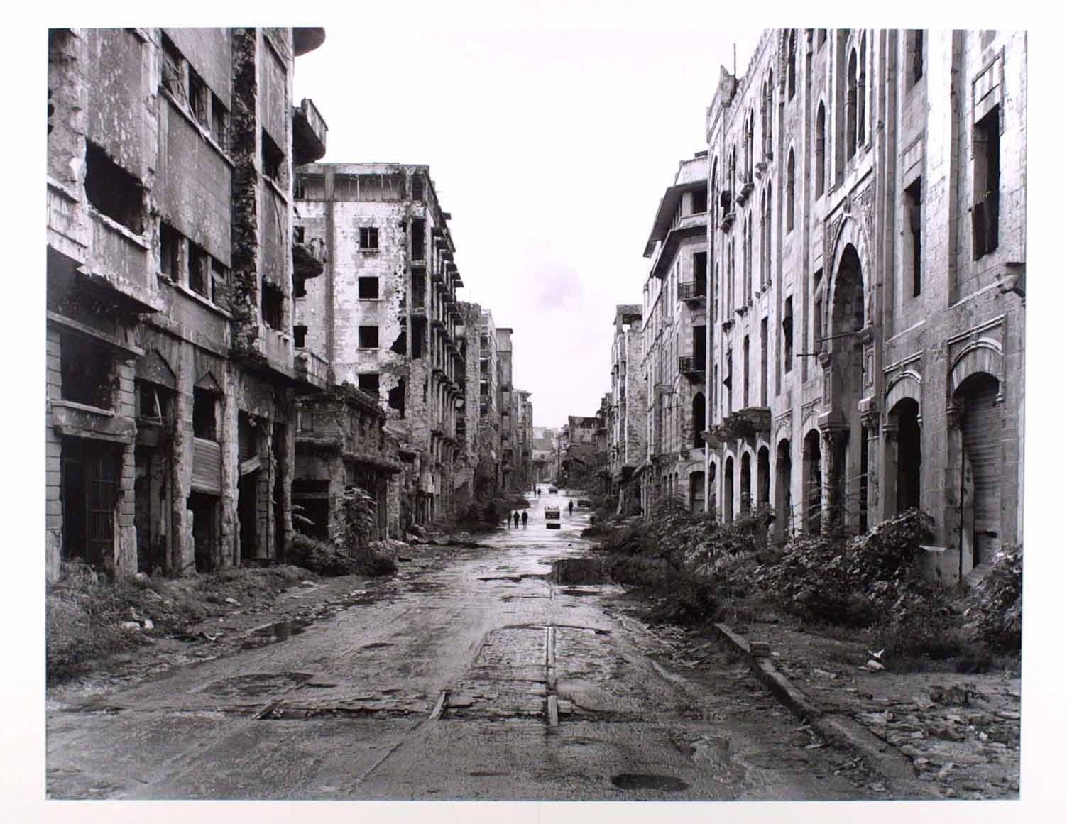 Gabriele Basilico - Beyrouth 1991
