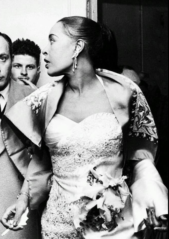 Billie Holiday à l'Olympia, 1958.