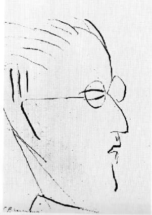 James Joyce, par Constantin Brancusi