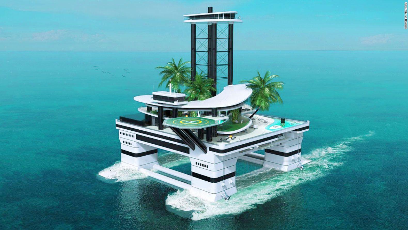 Livres - Sur mon île (artificielle) du bonheur pour milliardaires repus -