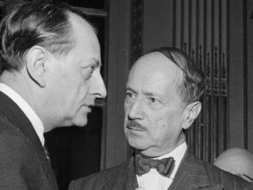 Dans les ors de la République, André Malraux et Alexis Léger.