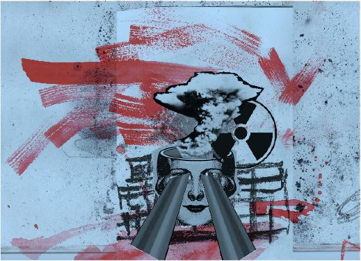 The Edge of Tomorrow , Marion Detournay, 2018 -  L'attente apocalyptique rend les sociétés que nous avons confortablement habitées peu familières, voire étranges. © PEnnInghEn 2018