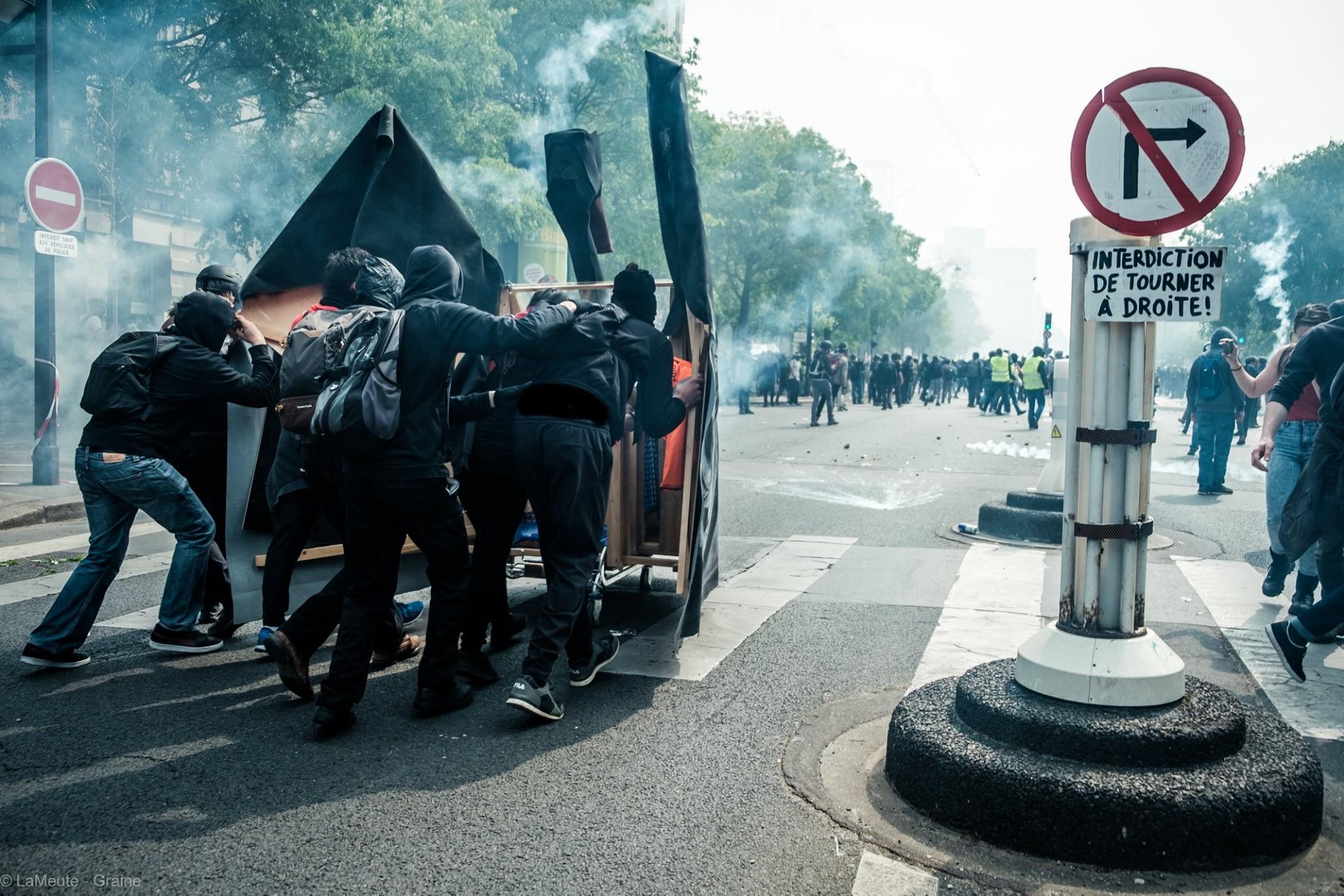 Le cygne noir du Bloc. Photo Stuv :  LaMeute