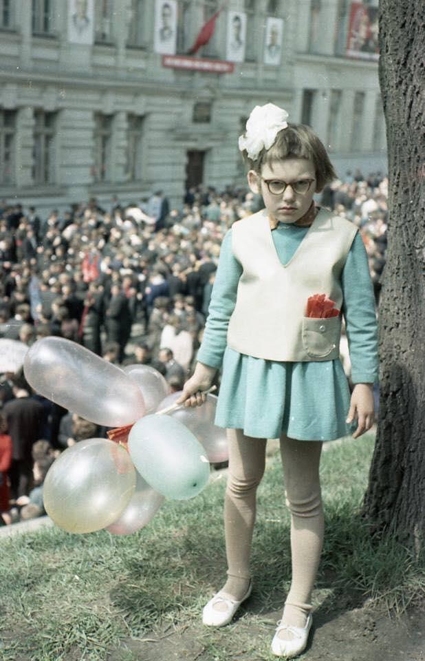 Un premier mai à Lvov, Ukraine, 1968.