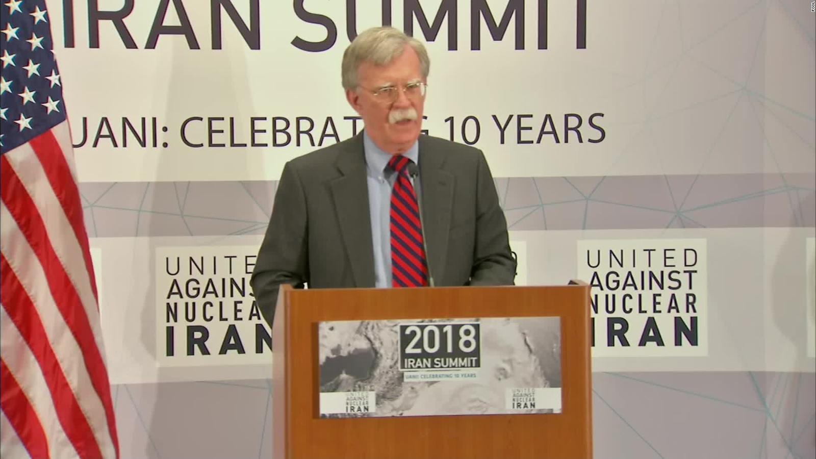 John Bolton, le retour de la guerre en personne.