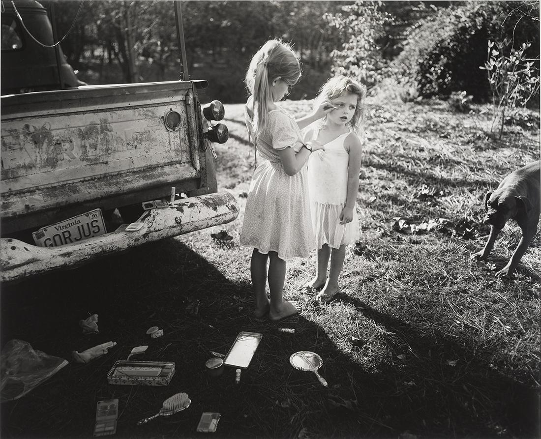 Gorjus 1989 Sally Mann.  Gelatin Silver print. Sayra and Neil Meyerhoff. © Sally Mann