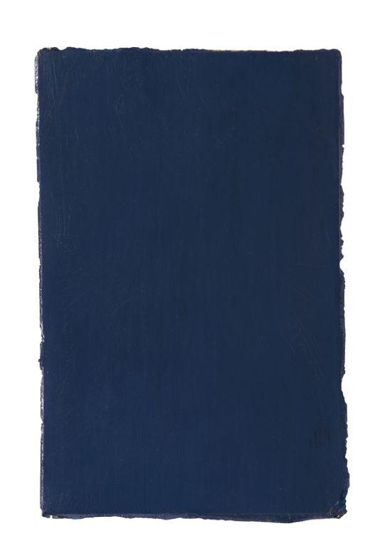Frederic Matys Thursz   Vitrail / A,   Huile sur papier marouflé sur toile, 1985 - 1986 88 x 58 cm