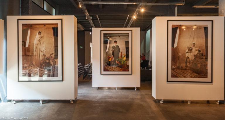Les marocaines MP Lille, autre vue de l'exposition