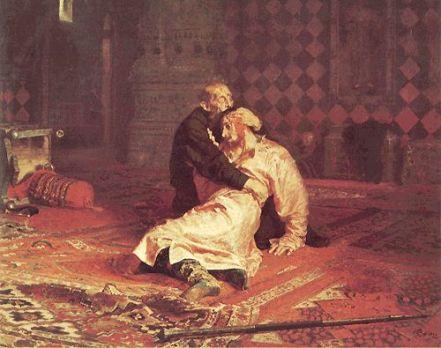 Ivan le Terrible tue son fils  (Ilia Répine, 1885)