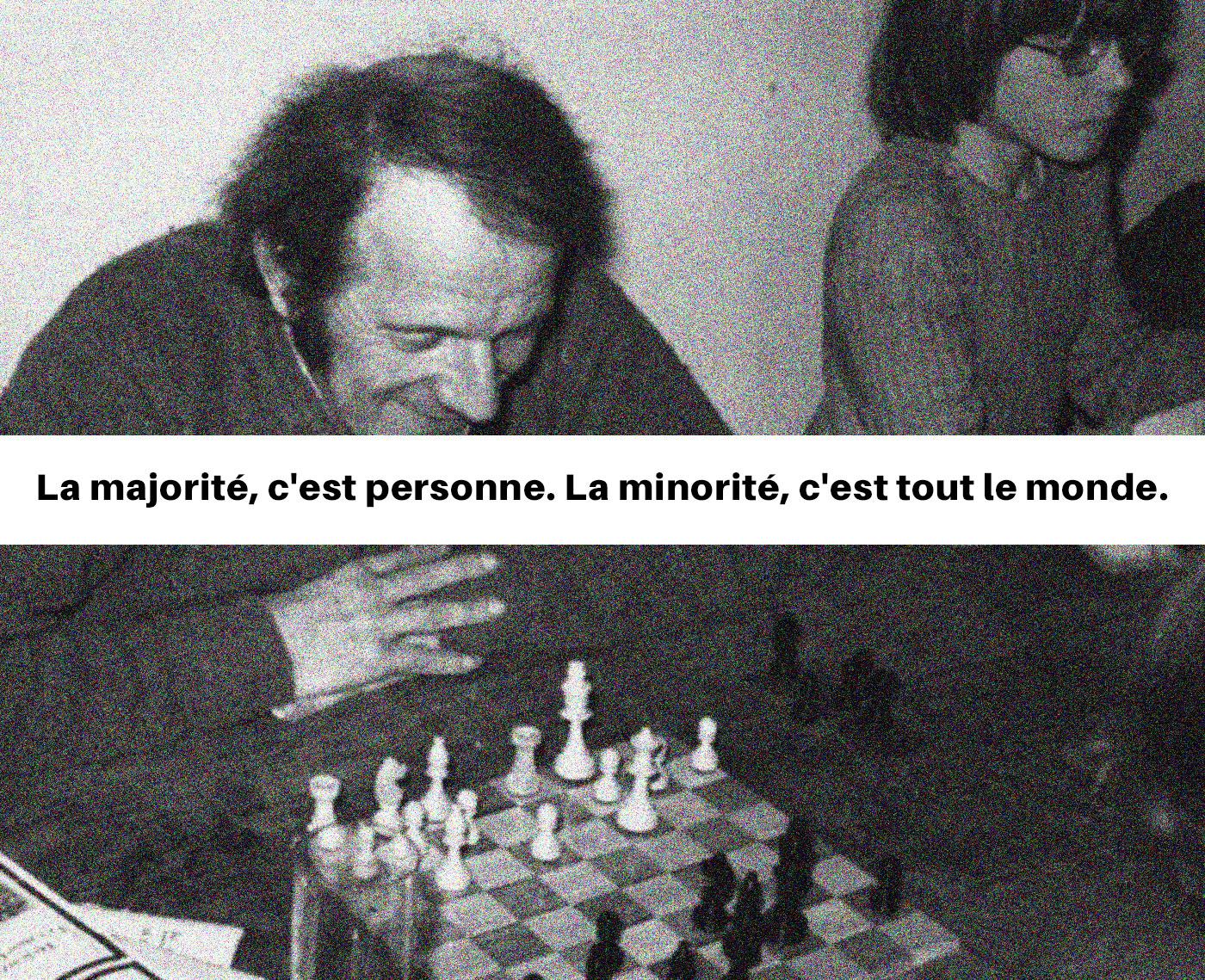 Gilles Deleuze chez Félix Guattari.