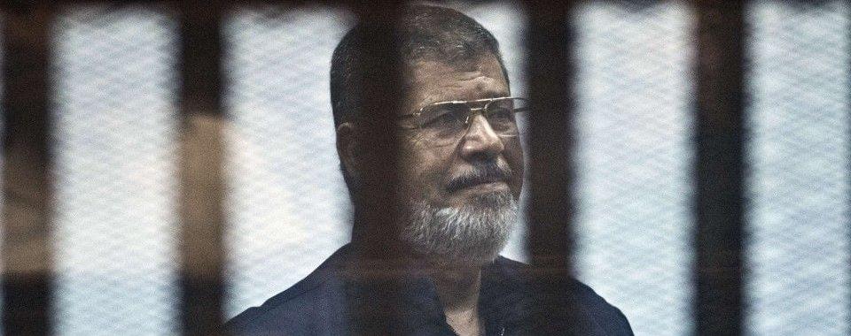 Mohamed Morsi à son procès