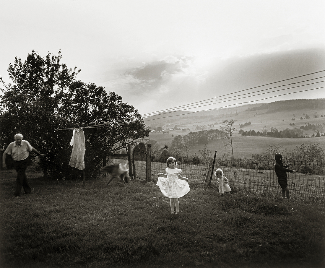 Easter Dress   (1986)  Sally Mann Patricia and David Schulte . © Sally Mann