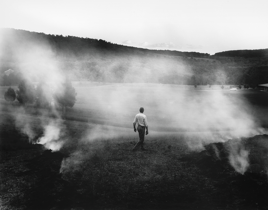 The Turn (  2005)  Sally Mann  Gelatin silver print. Private collection. © Sally Mann