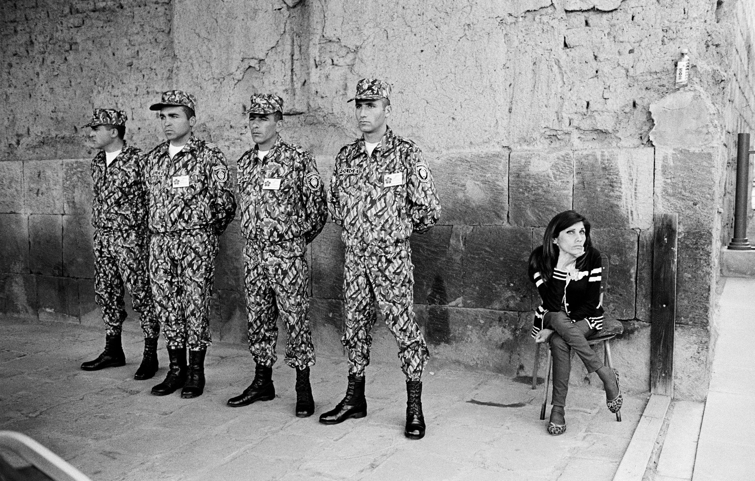Matthieu Chazal -  Commémoration du centenaire du génocide arménien  - Echmiadzine, Arménie -   Chroniques d'Orient 2019