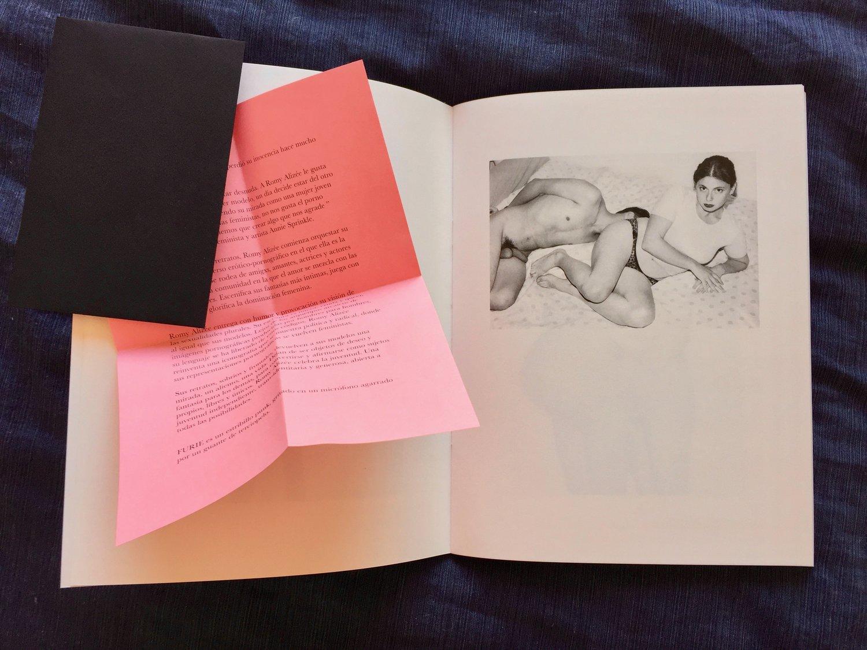 """""""Furie"""", un livre de Romy Alizée."""