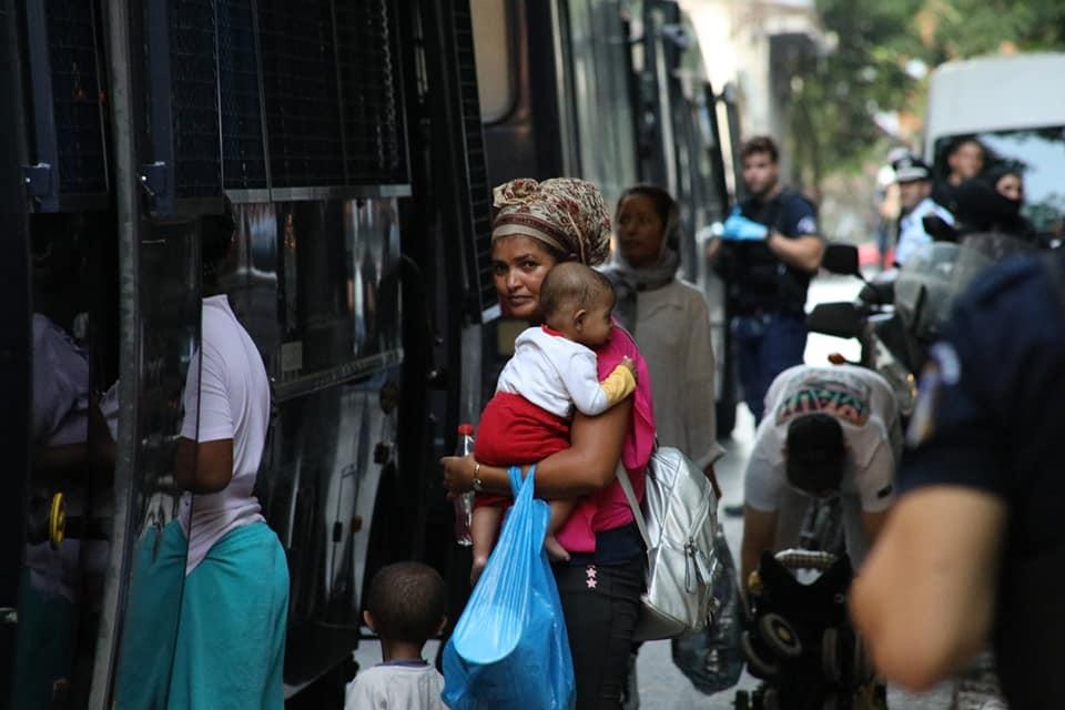 Athènes - arrestation des migrants dans les maisons du peuple solidaires d'Exarcheia