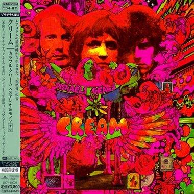 Cream en 1968 : Jack Bruce, Ginger Baker et Eric Clapton