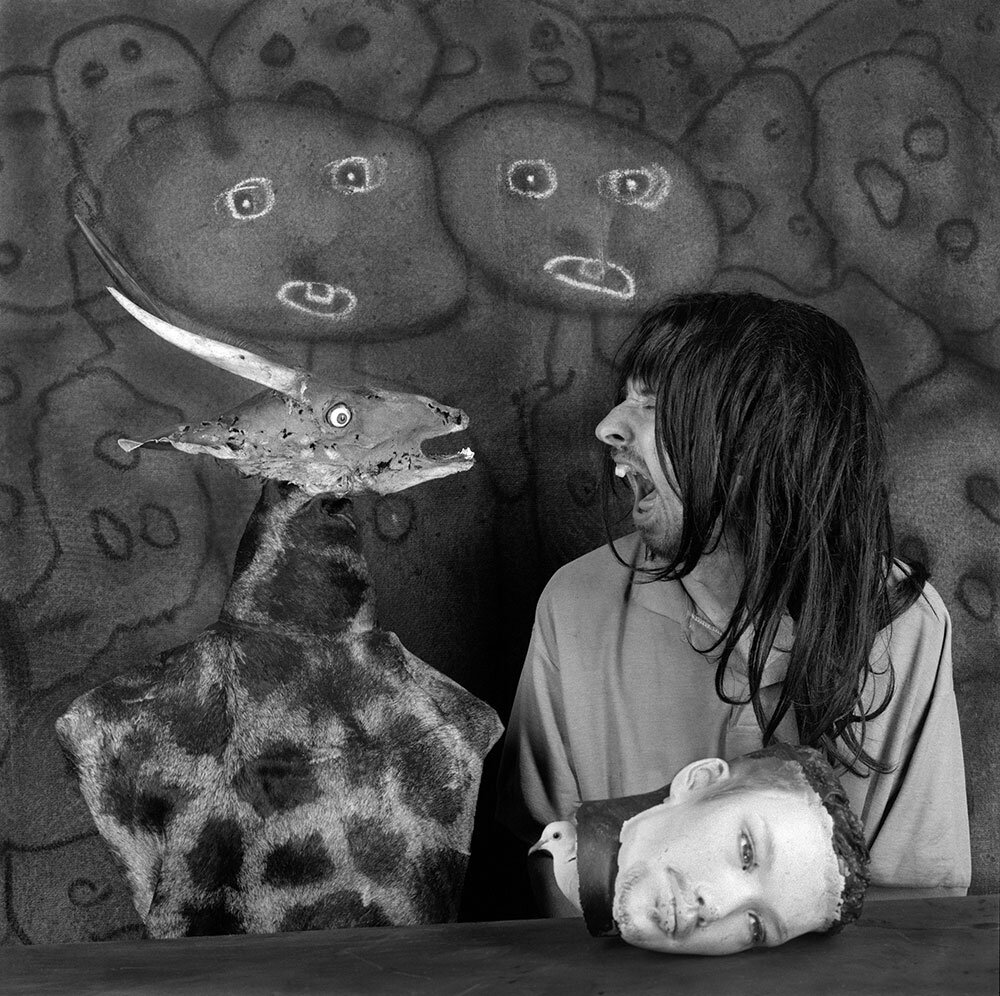 © Roger Ballen  Altercation -2012