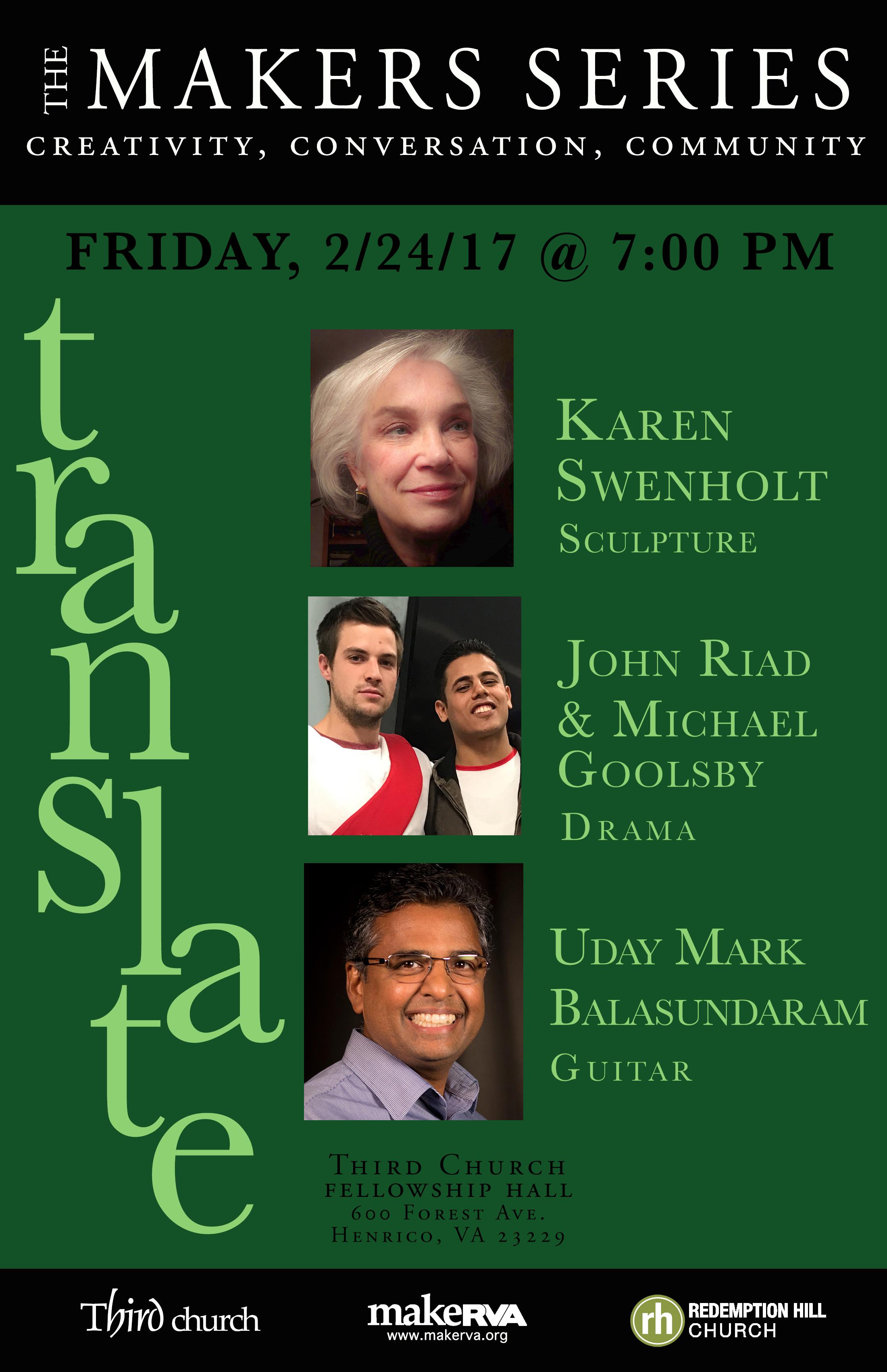 The Makers Series | TRANSLATE — Third Church RVA