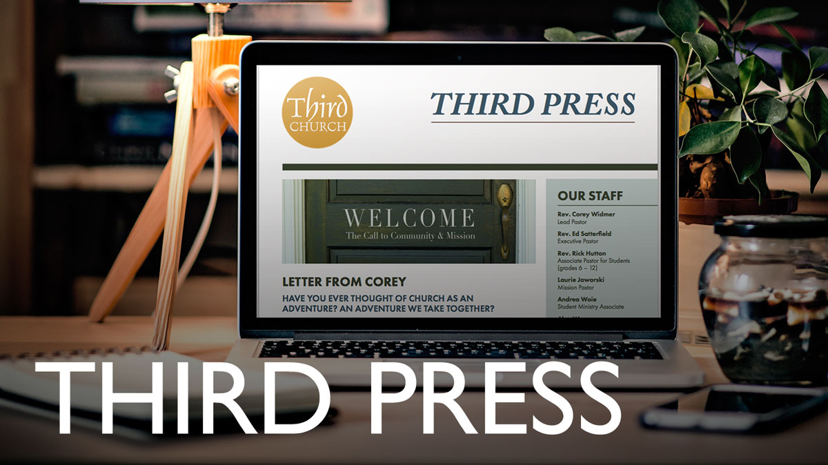 Third Press - Our monthly newsletter