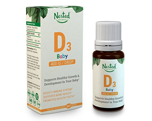 nested baby vitamin d3 drops
