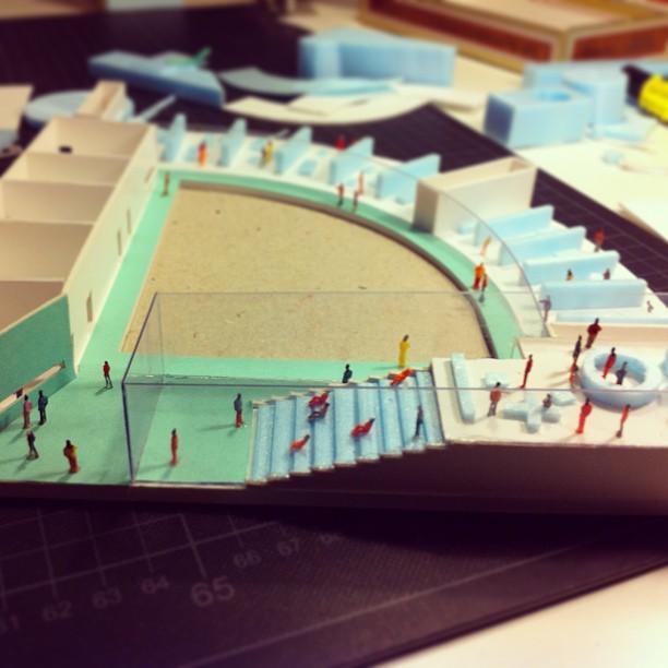 Borusan kindergarten model in the making