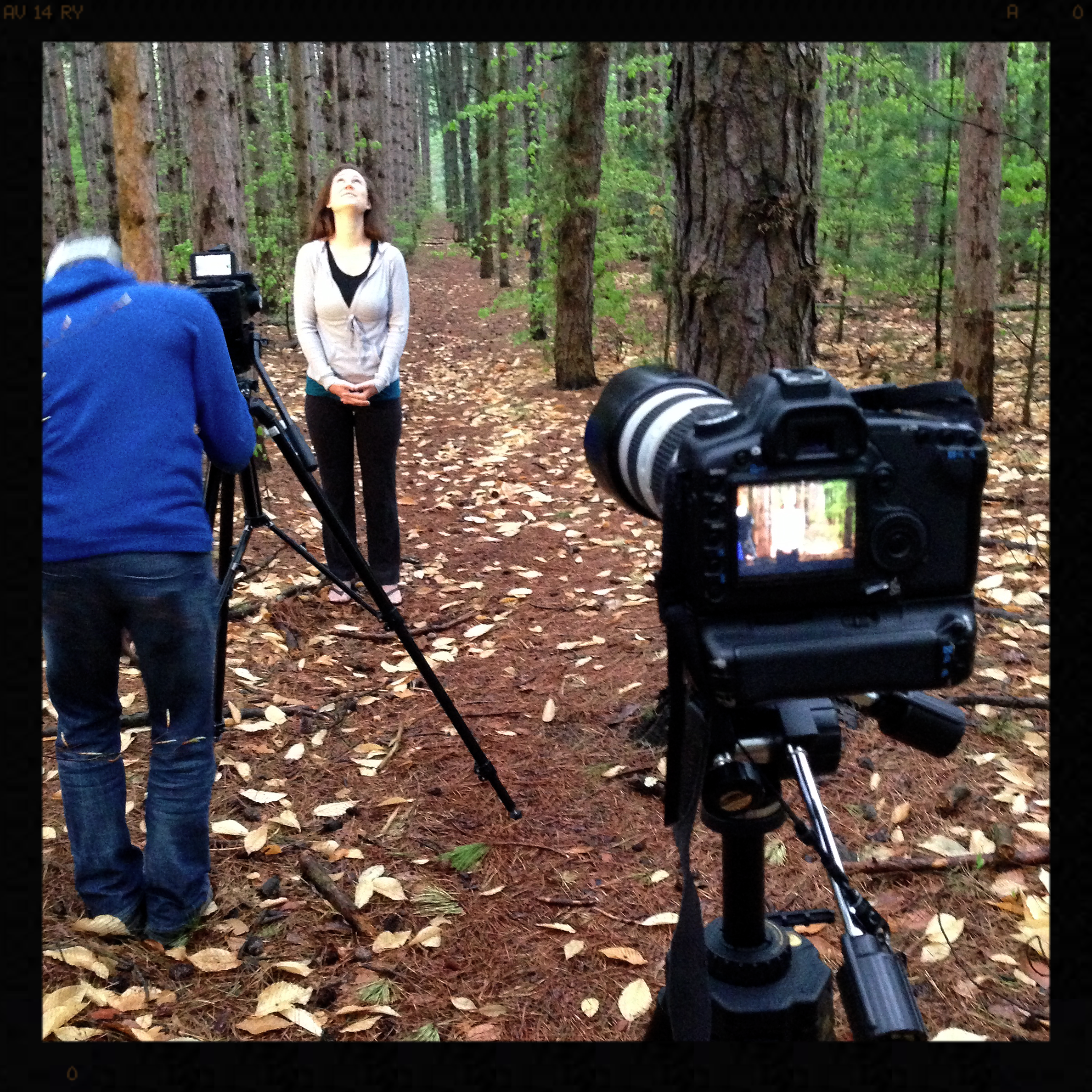 In the woods at Rosy Mound, Bethany Cramer was incredible.