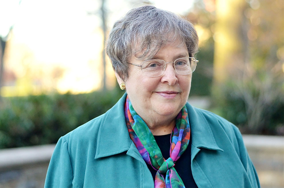 Sister Elizabeth Johnson, csj,  Photograph by Macey Foronda for BuzzFeed