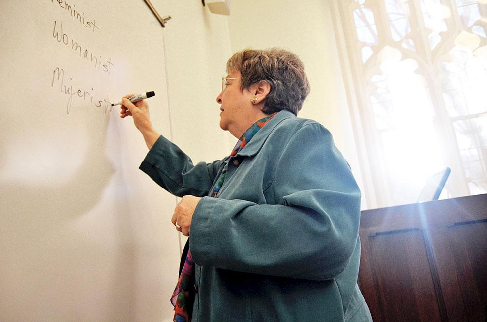 Sister Elizabeth Johnson, csj  Photograph by Macey Foronda for BuzzFeed