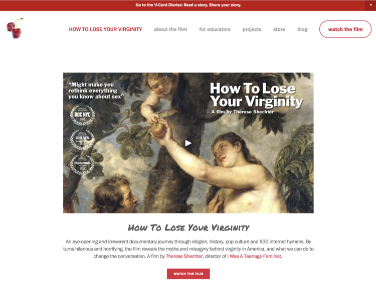Website: How To Lose Your Virginity
