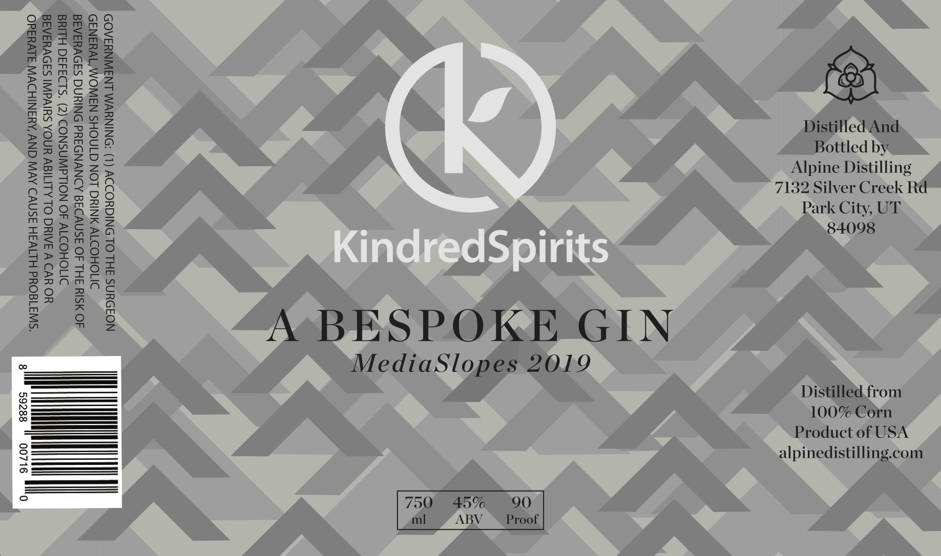 Special Edition Gin Label
