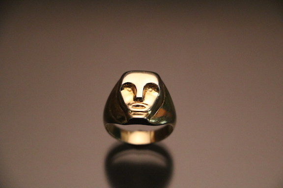 Figurative Gold Plated Ring copy.JPG