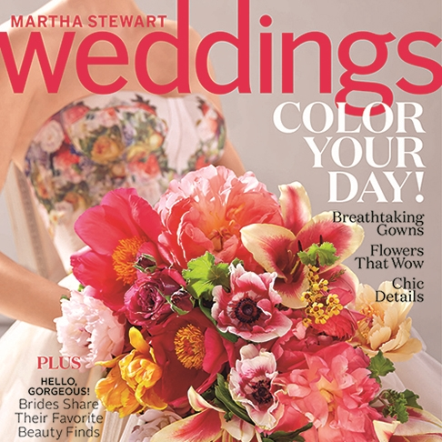 Martha Stewart Weddings Spring 2015