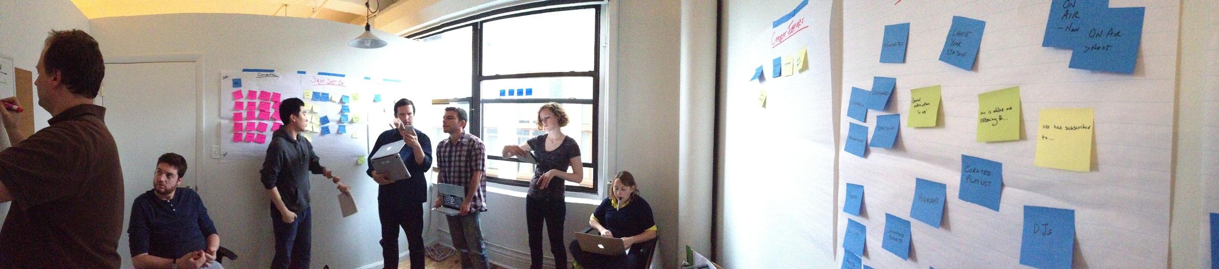 Team Brainstorm with Tigerspike