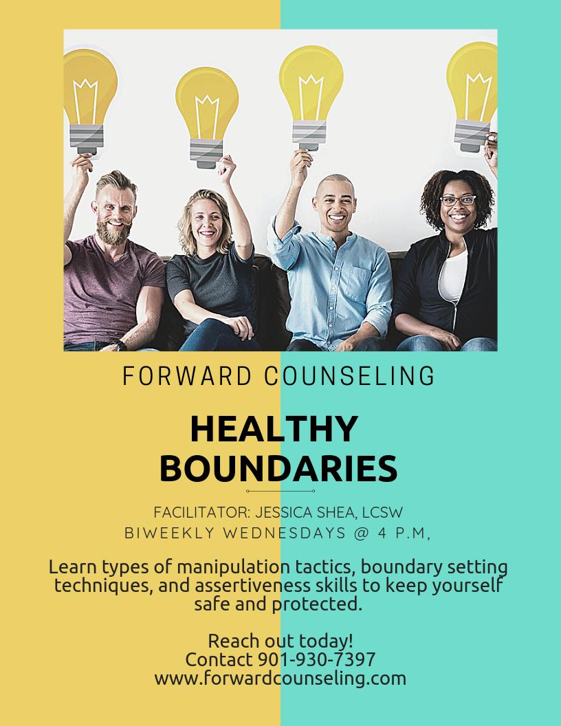 Healthy Boundaries Group — Forward Counseling Memphis