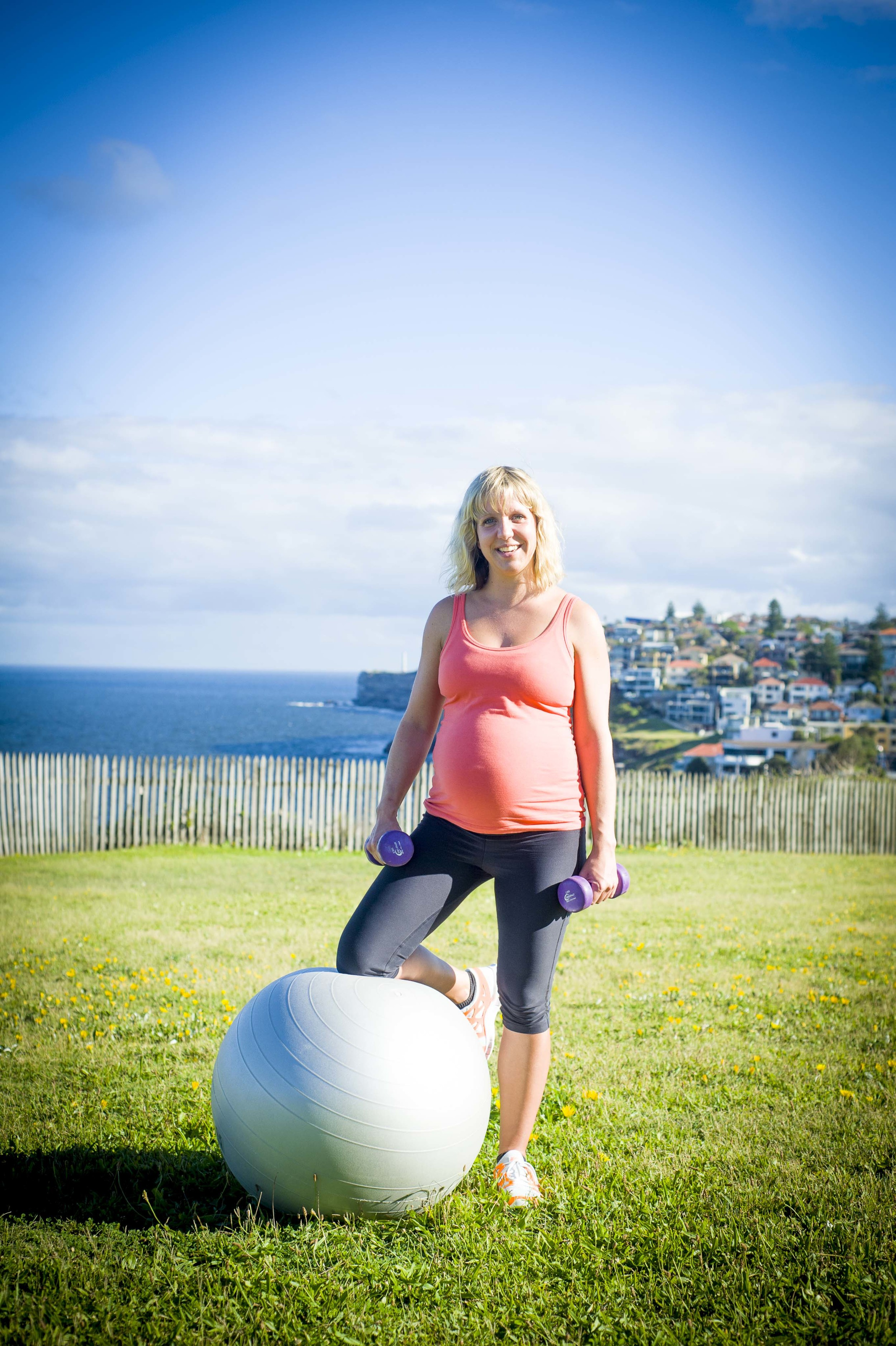 """Perhaps this is more Bondi """"Bump"""" - the effervescent Emily Boylin or Bondi's fitness phenomenon  Bondi Bum    , who is probably the most driven person i know. To cap things off, 24 hours later, her beautiful baby girl Eve was born. That's determination!"""