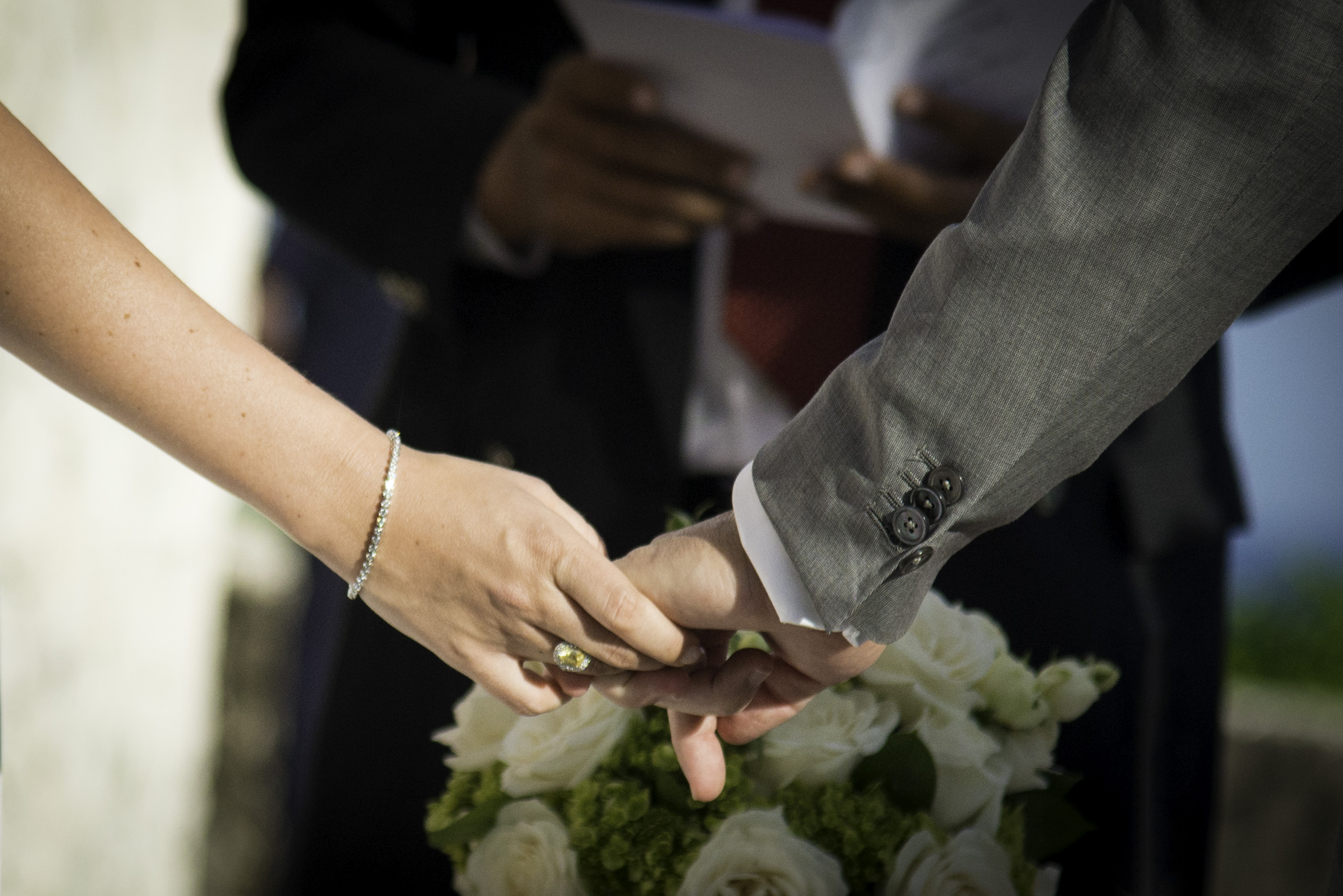 A tender detail of the amazing island  wedding  of Lauren & George. A beautiful ceremony for a beautiful couple.