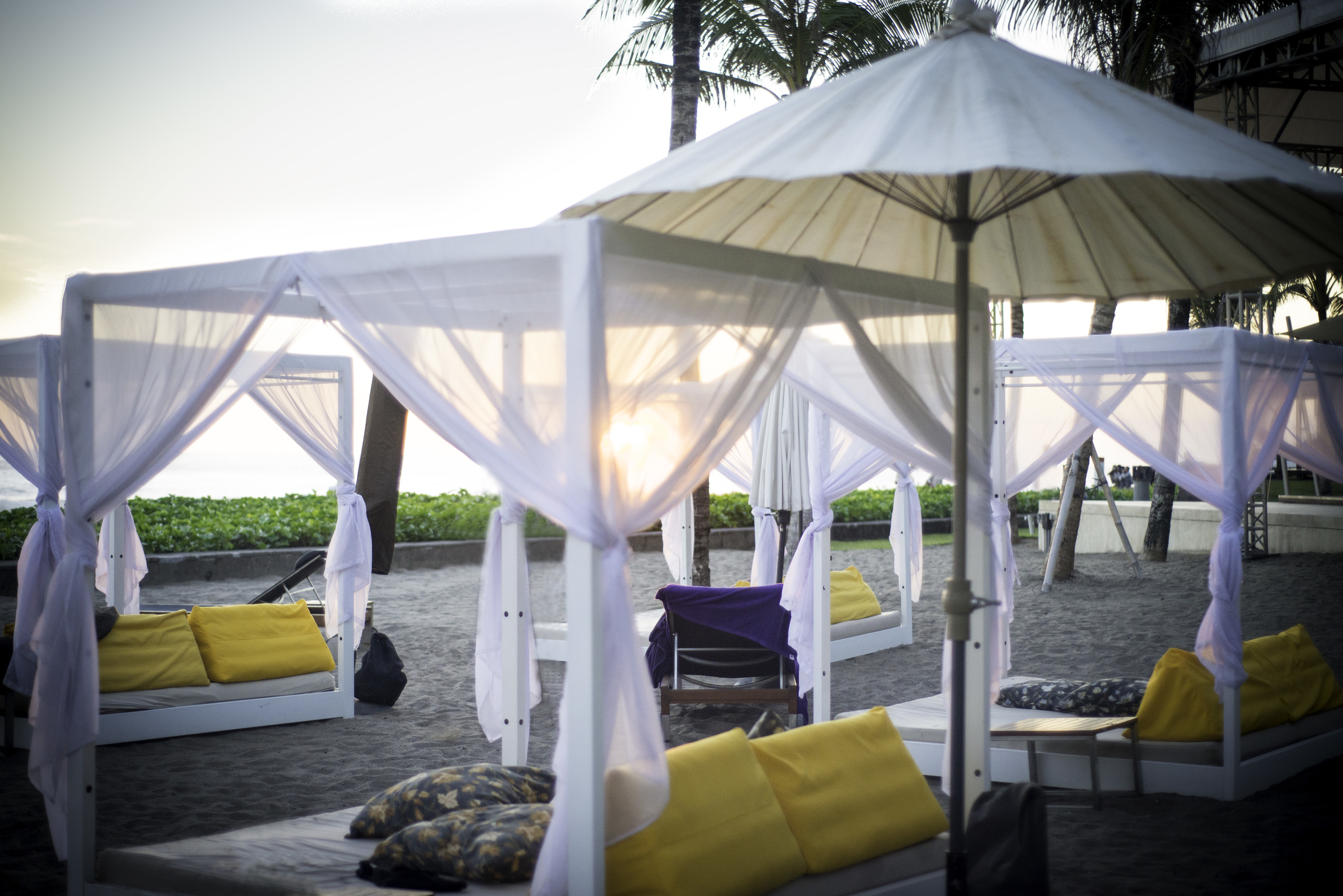 Captured at the amazing  W Retreat & Spa Seminyak .  Amazing food, amazing service, and the sunsets are free. Bliss.