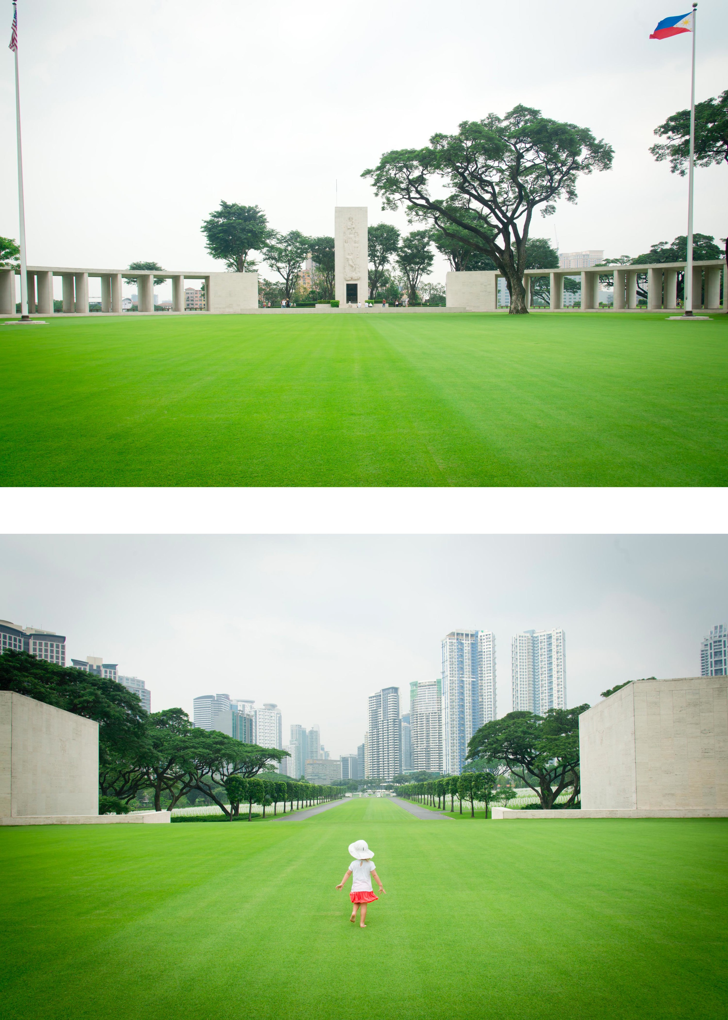 In case you were wondering how huge the memorial really is.