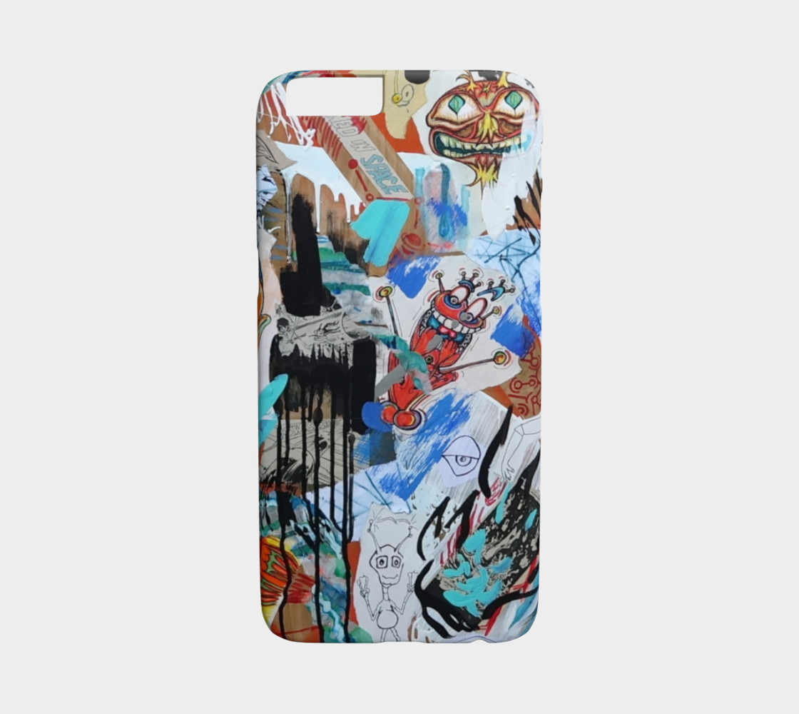 SPACE MADNESS iPhone 6 CASE