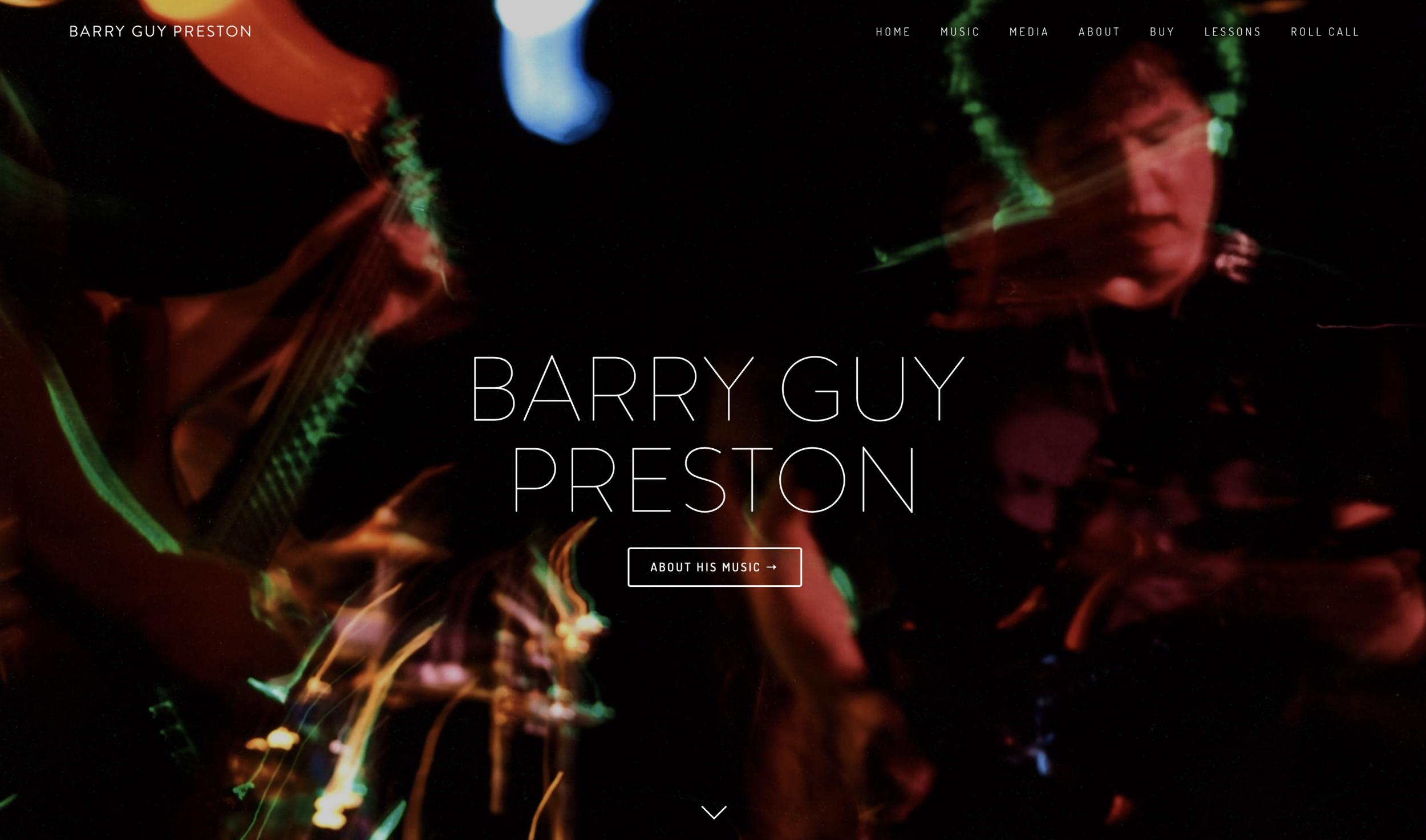 www.barryguypreston.com